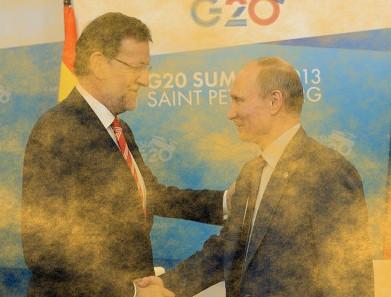 Vladímir Putin i Mariano Rajoy